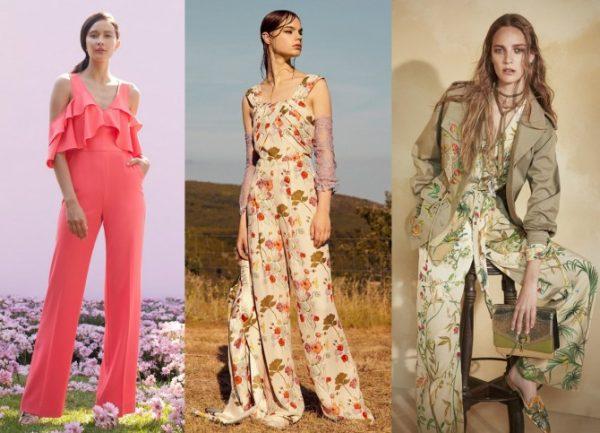 Цветочный принт будет в моде в 2018 году