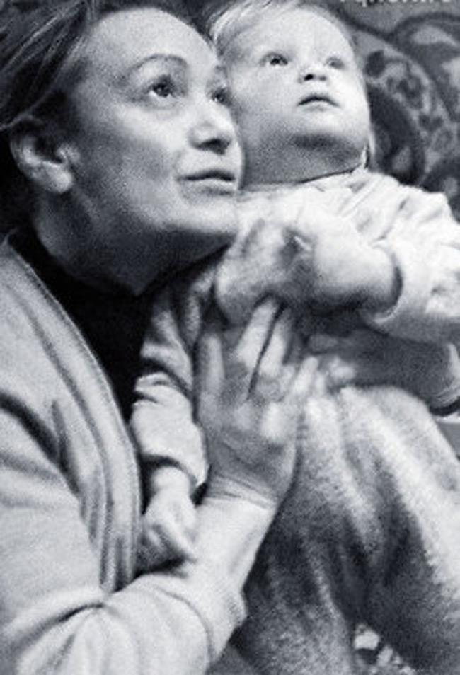 Нина Дворжецкая с бабушкой Бертой