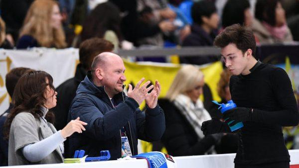 Дмитрий Алиев и его тренер Евгений Руковицын