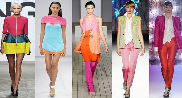 Розовые тона в одежде