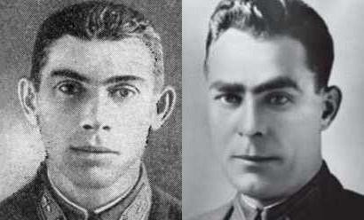 Леонид Брежнев (справа)