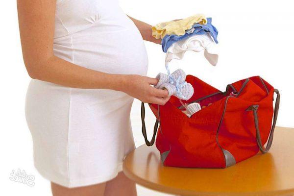 Подготовьте вместительную сумку для всех необходимых вещей в роддом