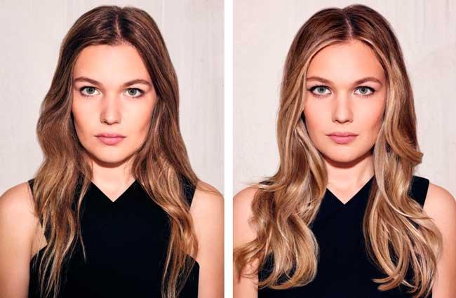 Контуринг волос: до и после процедуры