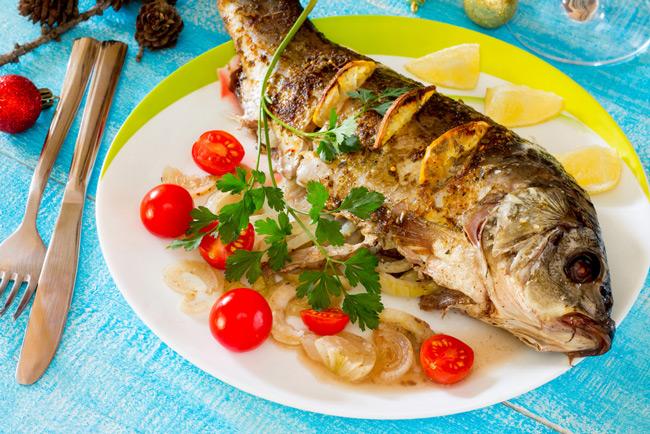 Приготовление рыбы на Новый год