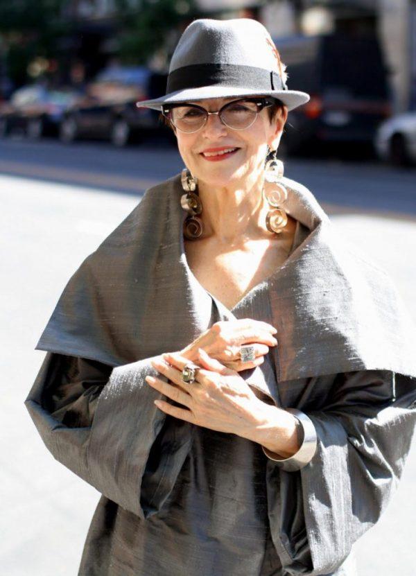 Женщина в любом возрасте может выглядеть стильно