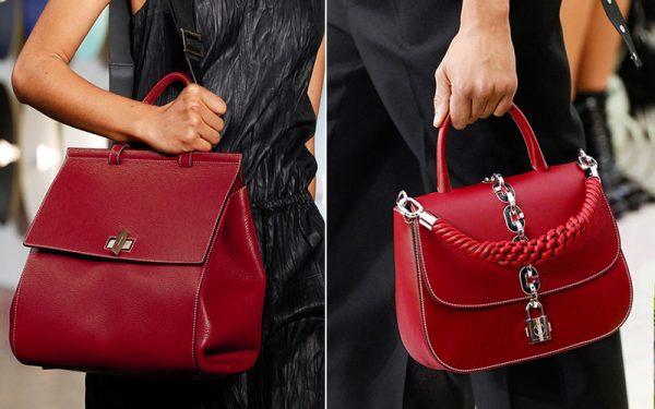 Красные модели сумок