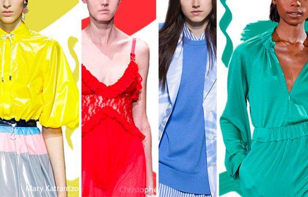 Яркие цвета в летней одежде