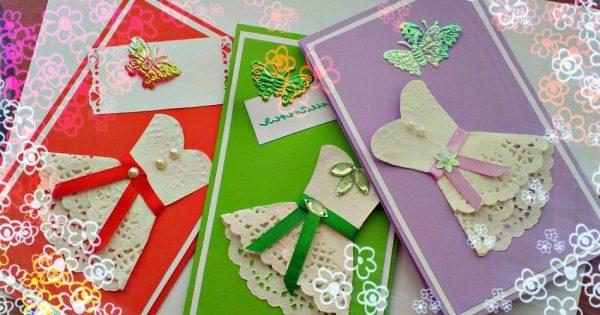 Поздравительные открытки для женщин