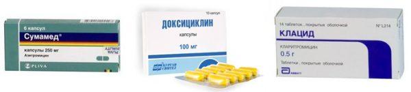 Антибиотики для лечения придатков у женщин