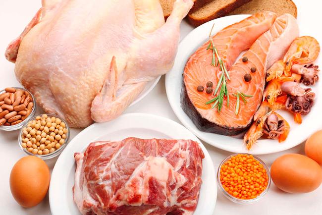 Продукты питания для белковой диеты