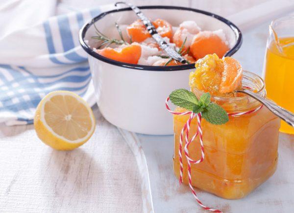 Абрикосовое варенье с лимоном
