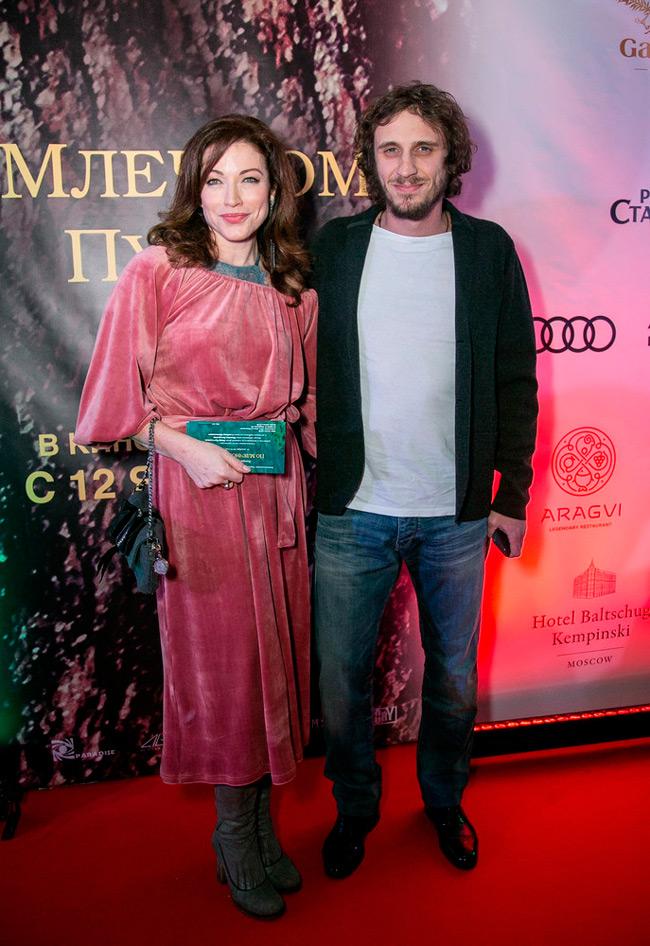 Алена Хмельницкая и Александр Синюшин