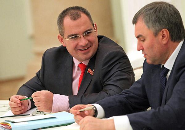 Максим Сурайкин на встрече