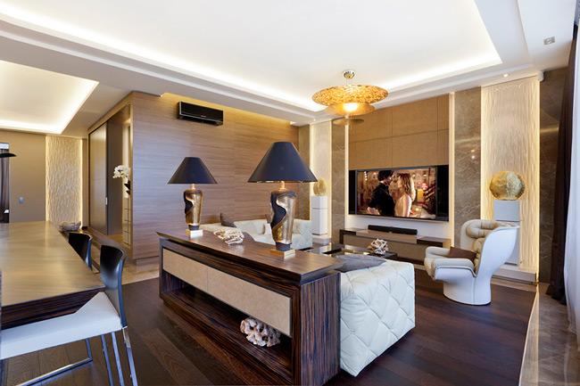 Современный дизайн квартиры, фото