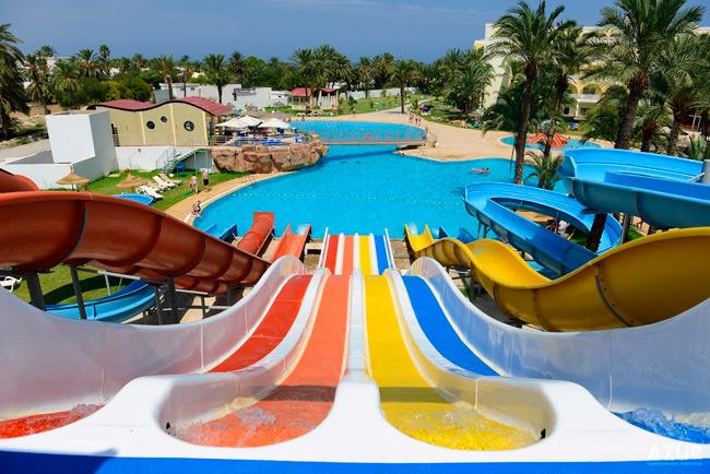 Отель Туниса с аквапарком