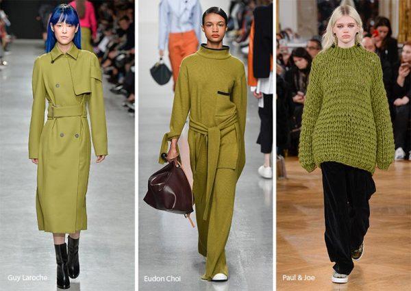Желто-коричневые оттенки в одежде