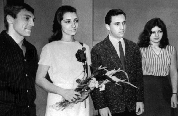 Людмила Абрамова и Владимир Высоцкий