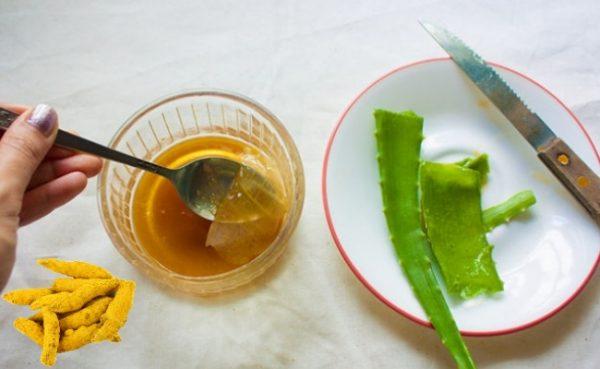 Мед и алоэ для лечения ангины