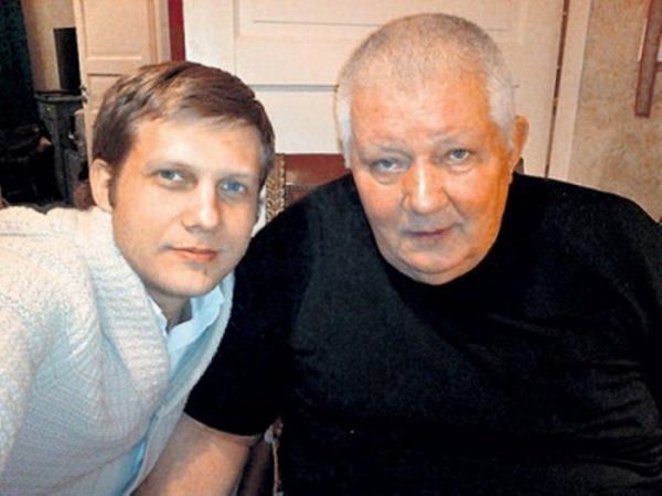 Борис со своим отцом