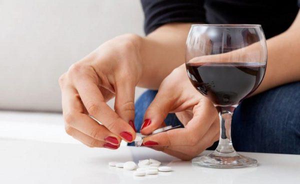 Алкоголь с антибиотиками не совместим!