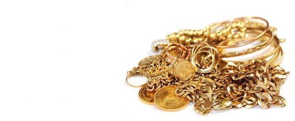 Чистка золотых украшений