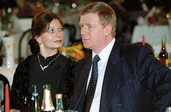 А. Чубайс и М. Вишневская