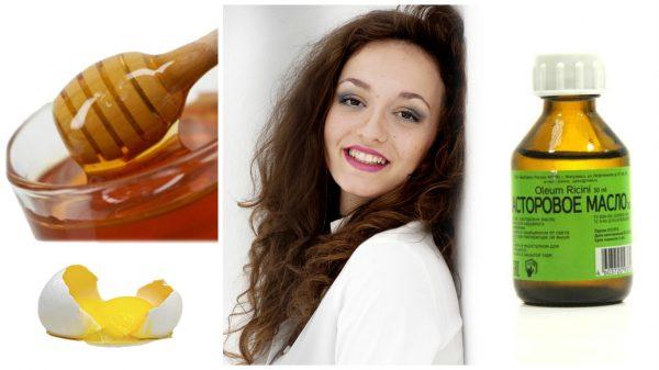 Маска из меда и камфорного масла