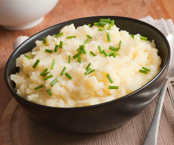 Пюре из картошки и цветной капусты