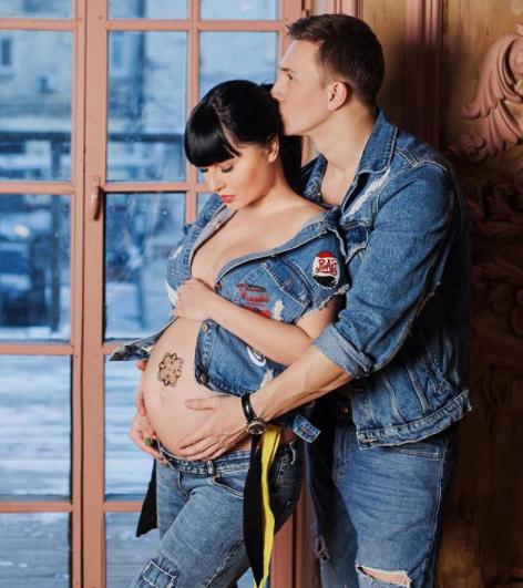 Нелли Ермловаева и ее муж