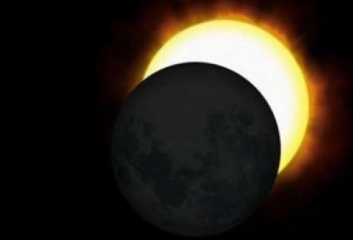 Как выглядит солнечное затмение: фото