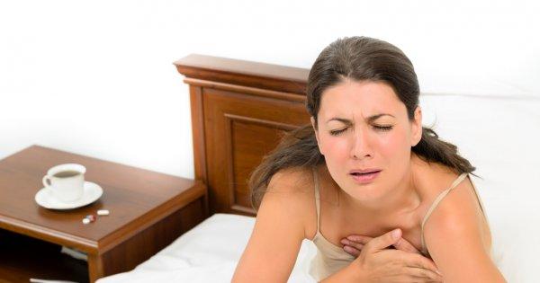 Боль и жжение в области грудной клетки