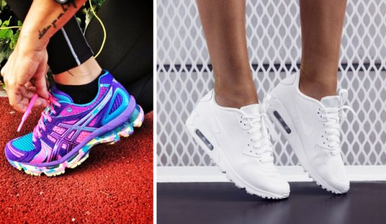 Зимние модели кроссовок