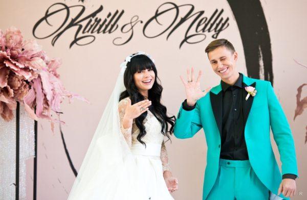 Фото со свадьбы известной телеведущей