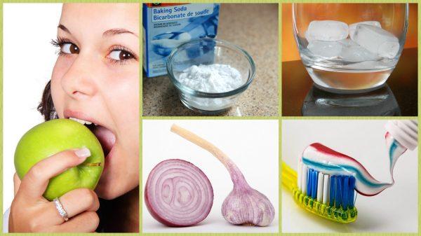 Народные средства от боли в зубах