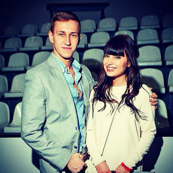 Нелли Ермолаева и ее муж Кирилл Андреев