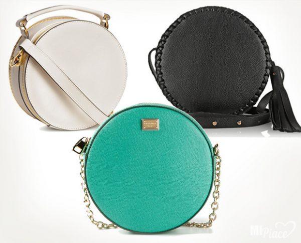 Круглые и полукруглые модели сумок