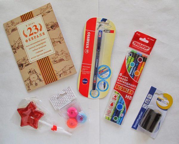 Индивидуальные подарки для каждого школьника