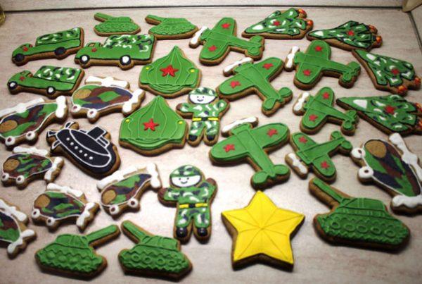 Вкусное печенье для мальчиков