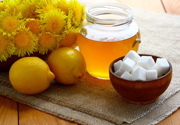 Варенье из одуванчика с добавлением апельсина