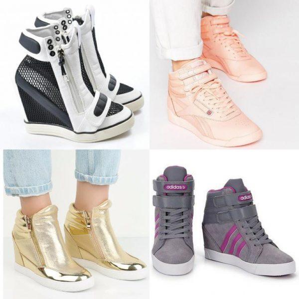 Модные кроссовки сникерсы