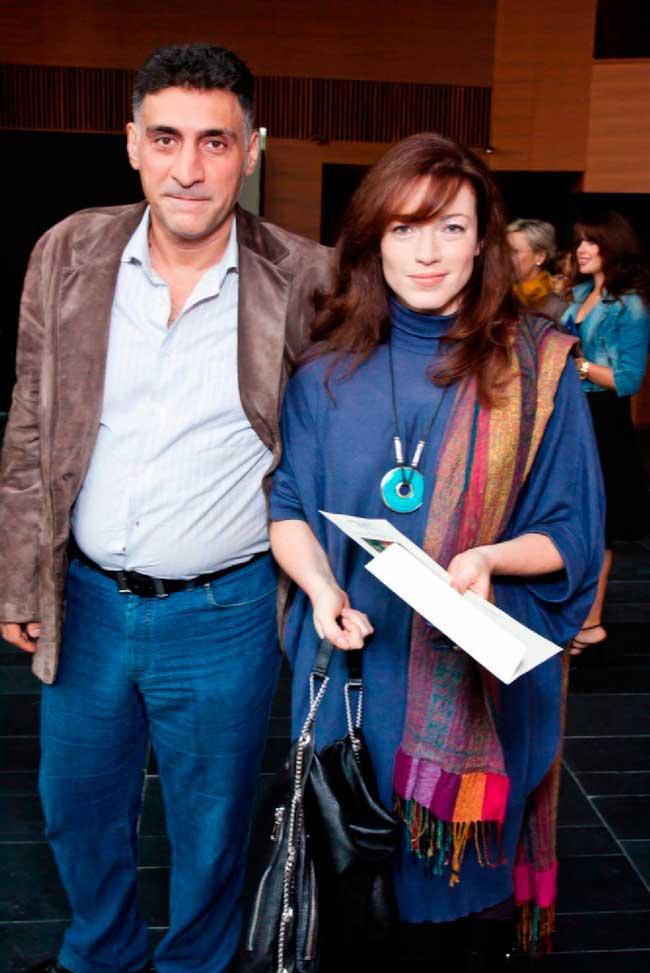 Тигран Кеосаян и Алена Хмельницкая, фото