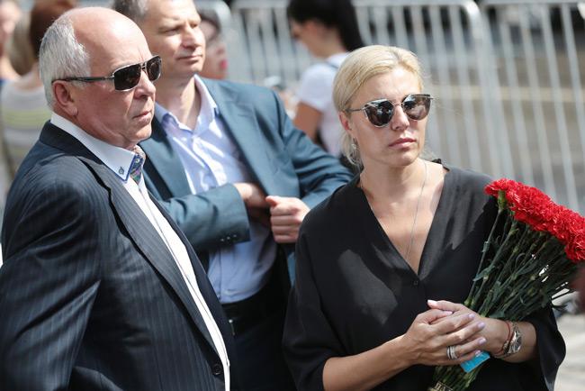 Сергей Чемезов с женой