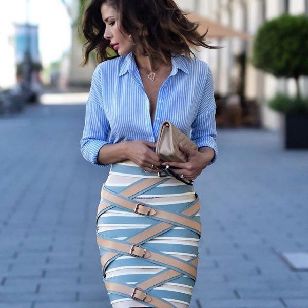 Модный образ в деловом стиле