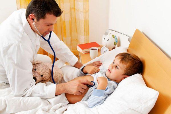 Воспаление легких сопровождается повышением температуры