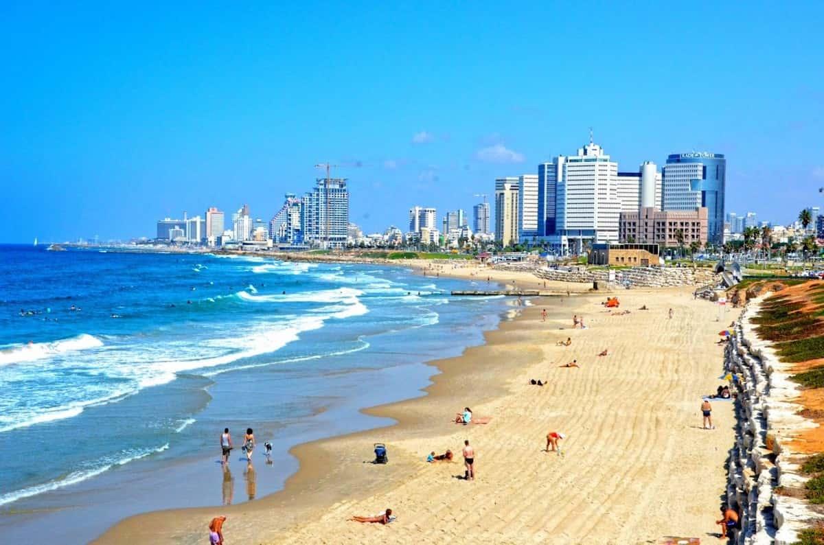 В Израиле очень чистые пляжи