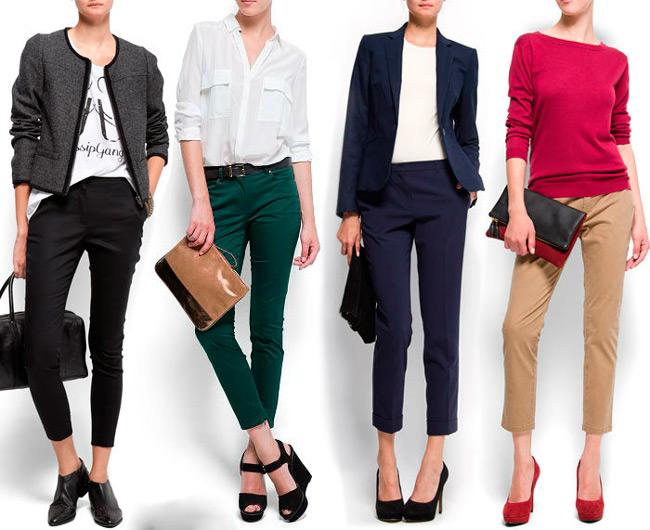 Короткие модели брюк