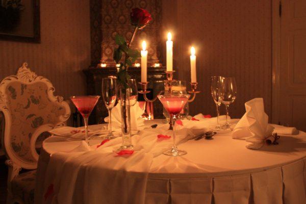 Праздничный ужин для мужа