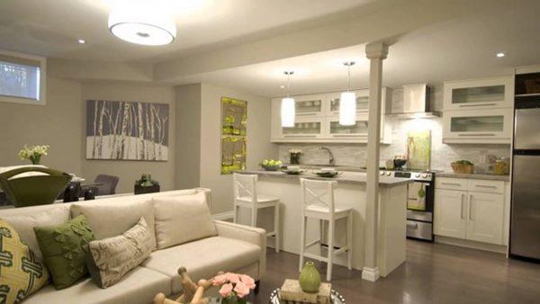 Кухня-студия: фото дизайн-интерьера