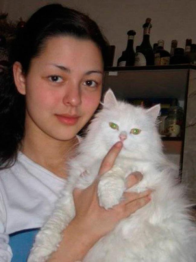 Марина Кравец в молодости