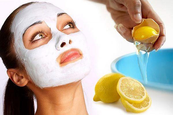 Сок лимона и сырое яйцо помогут избавится от прыщей